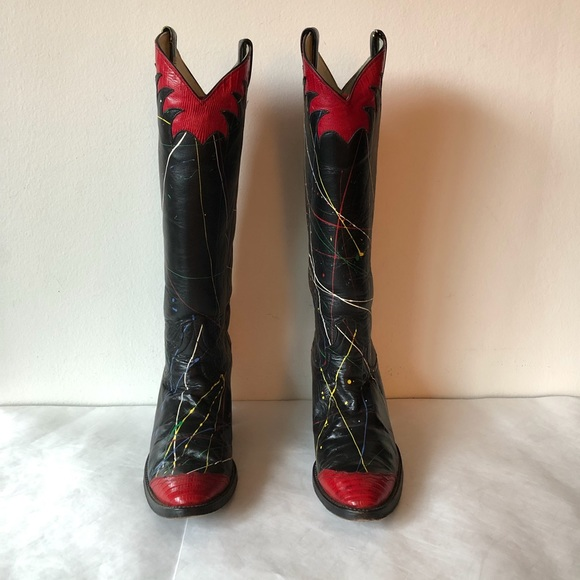 94e822982f2 Vintage 80's Oneofakind Western Boots
